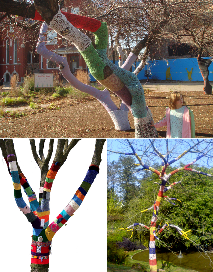 outdoor knittree